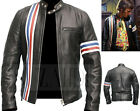 Wyatt Captain America Williams Biker Easy Rider Inspired Black Leather Jacket