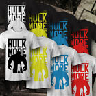 Fitness Bodybuilding Männer Motivation T-Shirt Druck HULK MODE JPI Training Gym
