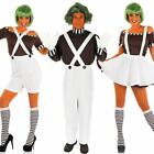 Chocolate Factory Worker Costume – Womens Mens Film / Book Week Fancy Dress
