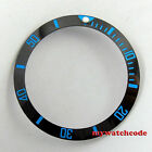 38mm black blue white green ceramic bezel insert for 40mm submariner mens watch