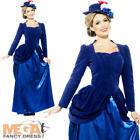 Deluxe Victorian Vixen Ladies Fancy Dress Edwardian Nanny Adults Costume Outfit