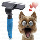 Pet Deshedding Brush Grooming Comb Tool Easy Reduce Shedding Undercoats for dogs