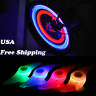 bicycle led spoke lights - Safe Colorful Bikes Bicycle Cycling Spoke Wire Tire Tyre Wheel LED Bright Light