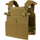Condor VAS Vanquish Armor Plate Carrier System COYOTE BROWN Concealed MOLLE Vest