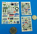 HO SLOT CAR Waterslide DECALS,  Tire Companies Goodyear #C FOR CARS