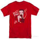 Betty Boop - Lover Girl Apparel T-Shirt - Red $21.99 USD