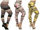 PLUS STRETCHY CAMO WINTER SKULLS BUTTERY SOFT LEGGINGS PANTS XL 1X 2X 3X 4X 5X