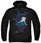 Hoodie: Betty Boop - Sparkle Fairy Apparel Pullover Hoodie - Black $42.99 USD