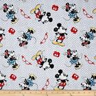 LICENSED DISNEY VINTAGE MINNIE MICKEY MOUSE CRAFT QUILT FABRIC Free Oz Post