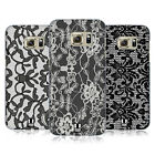 HEAD CASE DESIGNS BLACK LACE HARD BACK CASE FOR SAMSUNG GALAXY S7 EDGE