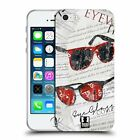 HEAD CASE DESIGNS FASHION COLLAGE SOFT GEL CASE FOR APPLE iPHONE 5 5S SE
