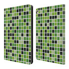 HEAD CASE DESIGNS MOSAIC TILES LEATHER BOOK WALLET CASE FOR APPLE iPAD PRO 9.7