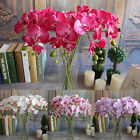 Artificial Plants Simulation Decorative Butterfly Orchid Silk Flowers Home Decor