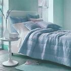 Quilt Comforter Casa by The Company Store 100% Cotton Light Blue Color Was $289