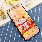 China Lucky Cat Matte Hard Tpu Bumper Case Cover For iphone 6/6S plus /7 7PLUS