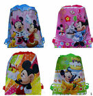 Lot Mickey Minnie Mosue Environmental protection Bags Draw string backpack D15