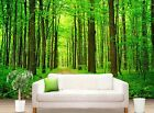3D Green Forest Path 379 Paper Wall Print Wall Decal Wall Deco Indoor Murals
