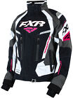 FXR Womens Black/Charcoal/Fuchsia Snowmobile Adrenaline Jacket Snocross