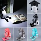 Electric USB Rechargeable LED Portable Lamp Happy Sheep Lamp Desk Light O4