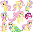 MY LITTLE PONY FLUTTERSHY wall stickers (30 image selection in 3 size) PRE-CUT