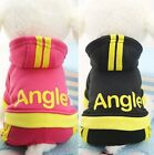 4 LEGS Puppy Pet Dog Cat Clothes Hoodie Winter Warm Sweater Coat Costume Apparel