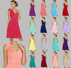 2017 Short Sexy Formal Cocktail Formal Bridesmaid Party Cocktail Prom Dress 6-18