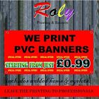 FREE NEXT DAY DELIVERY PVC Banners Outdoor Vinyl Banner FRONT LIT, PREMIUM QLTY
