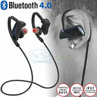 Wireless Bluetooth Headset Stereo Headphone Earphone Sport for iPhone Samsung LG