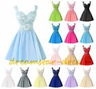 New Stock Short Formal Prom Dresses Homecoming Party Ball Gowns Cocktail Size 6+