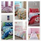 Catherine Lansfield Kids Children's Boys Girls Single Double Bedding Range