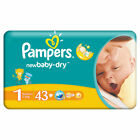 _Pampers New Baby Newborn GR.1 2-5kg 34 - 688 Stück. Mega / Ultra Paket Windeln