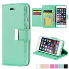 For Apple iPhone 7/7 Plus Luxury Flip Cover Wallet Card Leather Phone Case Stand