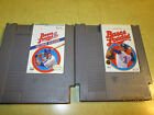 NES NINTENDO GAMES BASES LOADED 1 AND II  CARTRIDGES ONLY