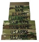 Внешний вид - 4 piece Multicam OCP Custom Name & US Army Tape set, with Fastener or Sew-On
