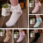 Trendy Newest Cute Sweet Frilly Ruffle Ankle Lace Cotton Soft Lady Women Socks