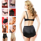 SEAMLESS HIGH WAIST FIRM TUMMY BUM CONTROL SLIMMING BRIEFS HIPSTERS SIZE S-XL