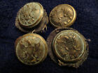 WEST POINT BUTTONS. CUSTER PERIOD BUTTONS, U S MILITARY ACADEMY 1860'S,