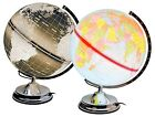 Globe Touch  Lamp - Available in Blue or Black