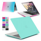 Rubberized Hard Case Cover Skin for NEW Apple MacBook PRO with & w/out Touch Bar