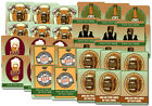 """6 Blank or Custom 4 x 3"""" BEER or Brewery LABELS Personalized Suds Octoberfest"""