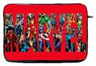 Marvel Logo Characters Laptop Case Sleeve Bag Tablet Ultrabook Chromebook Gift