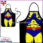 Wolverine Marvel Comics Superhero Novelty Funny Apron Adult Cooking BBQ Chef