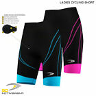 Womens Padded Cycling Shorts Bike Knicks Bicycling Riding Shorts With Padding