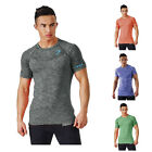 Men T-Shirt Workout Gymshark Tee Gym Bodybuilding Shark Top Fitness T Shirt Slim