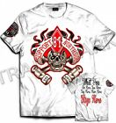 043 Hells Angels NorthSide Spain T-Shirt model 13 Front + Backside + sleeve