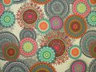 """Mini Prints"" Kaleidoscope 100% Cotton Fabric Multi Use Curtain Blinds Quilting"