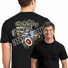 Mens Pocket T Shirt Rat Rod Pinstripes Whitewalls Hot Rod Hemi Small to 4XL