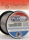Rig Marole NEW FLX Extra Strong Fluorocarbon Coated Monofilament Carp Line