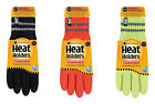 Heat Holders - Mens Thick Thermal Insulated Reflective Hi Vis Winter Work Gloves