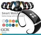 Bluetooth Smart Bracelet Watch OLED Touch Time Pedometer Hands-free calls SMS...